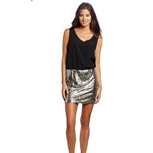 As U Wish sequin skirt dress